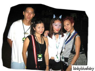 TL, Mary Teoh, Jessica Boorman, Joyce