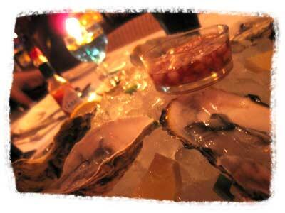 oysters @ boathouse
