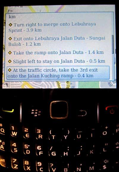 how to download google maps on blackberry