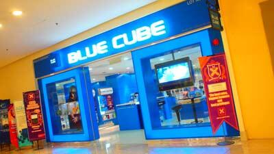 blue cube outlet