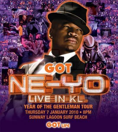 Ne-Yo in KL 2010