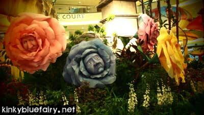 Alice in Wonderland Concourse Mid Valley KinkyBlueFairy