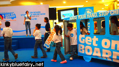 unicef get on board campaign