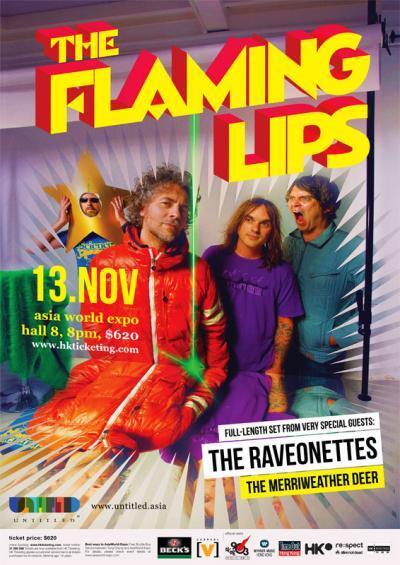 Flaming Lips live in Hong Kong Nov 2010
