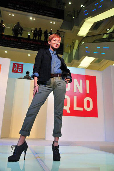 Uniqlo Launch at Fahrenheit 88 KL