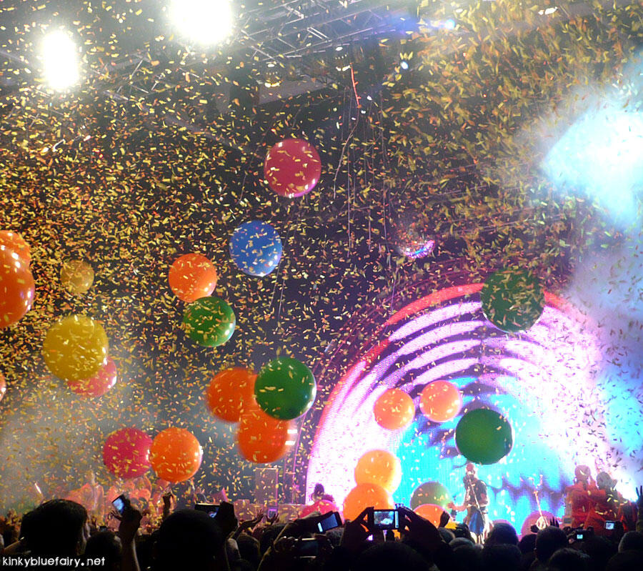Flaming Lips live in Hong Kong Nov 2010