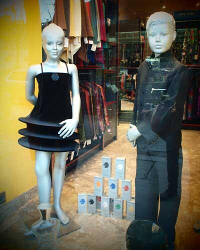 pierre cardin window display paris