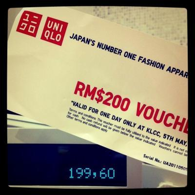 Uniqlo launch @ KLCC