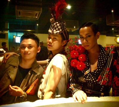 SalahWrong @ Hanger SS11 party @ Ecoba