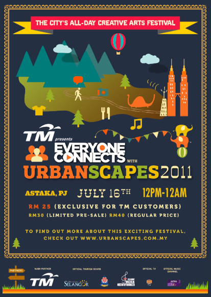 Urbanscapes Poster