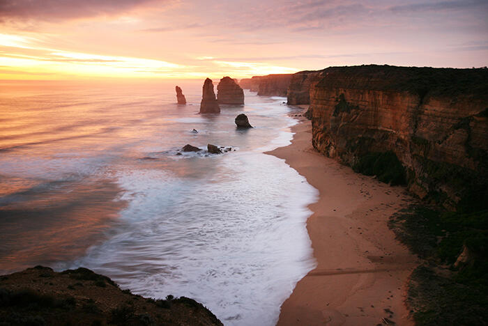 Twelve Apostles at Sunset - Great Ocean Walk