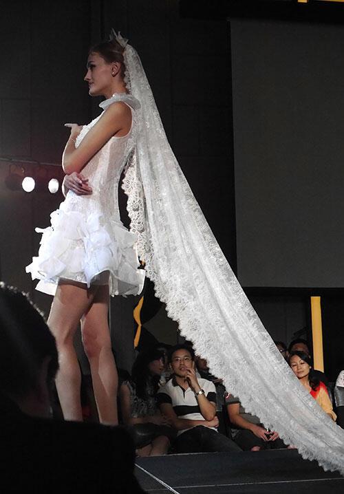 Celeste Thoi: Malaysia Wedding Dress Designer   KinkyBlueFairy