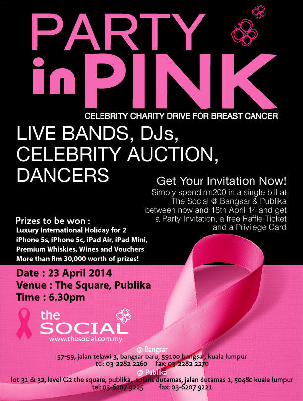 social pink party