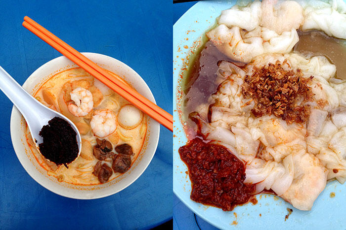 kinkybluefairy-penang-georgetown-curry-laksa-chee-cheong-fun-breakfast