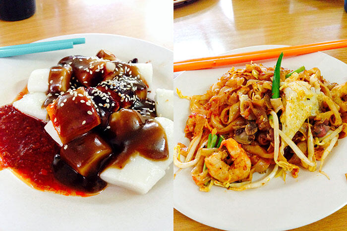 kinkybluefairy-penang-georgetown-food-char-kuey-teow-cheecheongfun