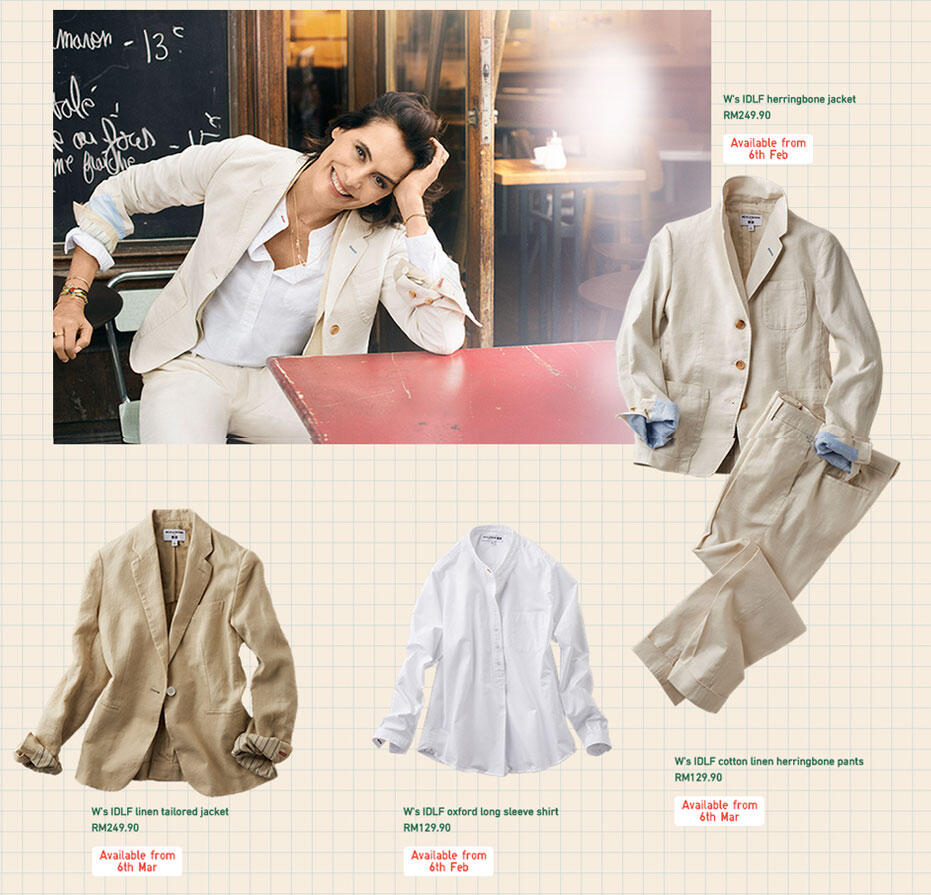 Uniqlo SS15 Linen Collection Uniqlo SS15 Linen Collection new pictures