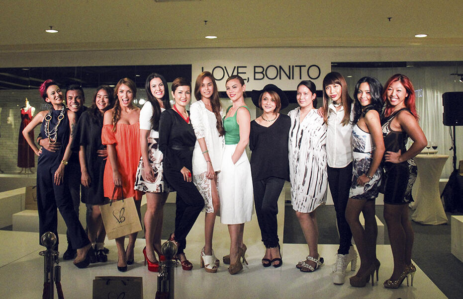 Love bonito mid valley launch fashion show kinkybluefairy for 76 salon mid valley