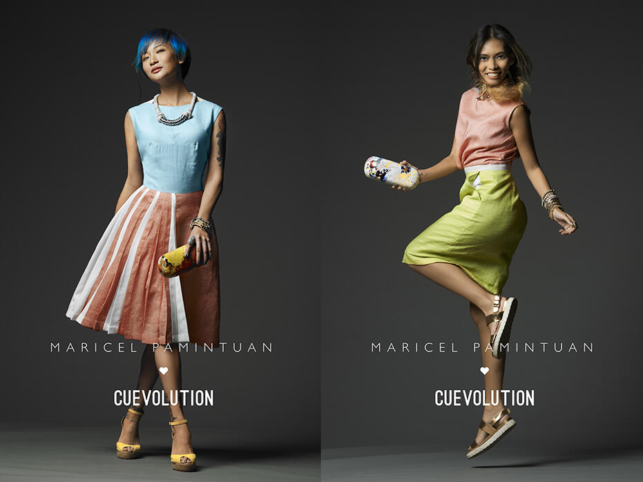 Maricel for CUEVOLUTION campaign Joyce Wong Lexie Rodriguez