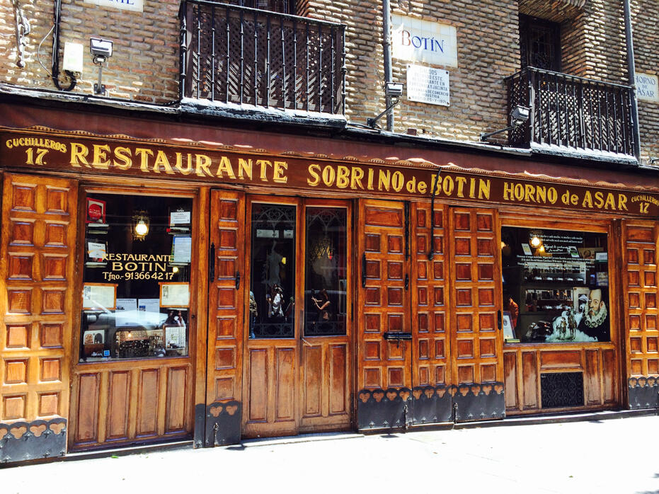 Madrid - Day 1 - Restaurante Botin - 002