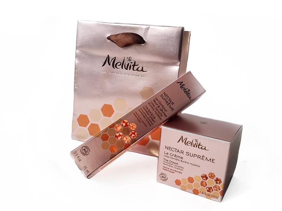 Beauty Post - Melvita The Cream and The Eye & Lip Contour Cream