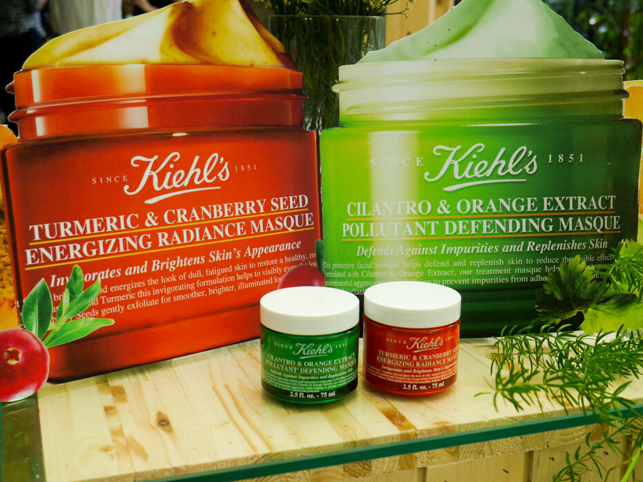 Kiehl S Nature Powered Masques Launch Kinkybluefairy