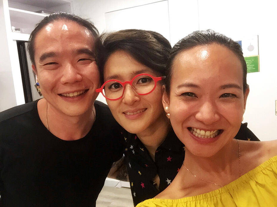 Jun Chan Melissa Indot Joyce Wong