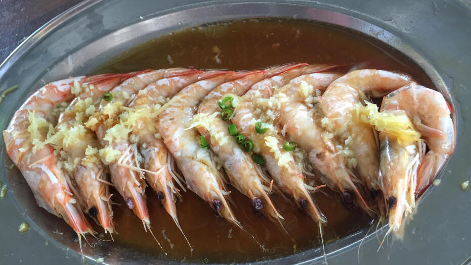 Penang June 2016- food and wedding-11 prawn