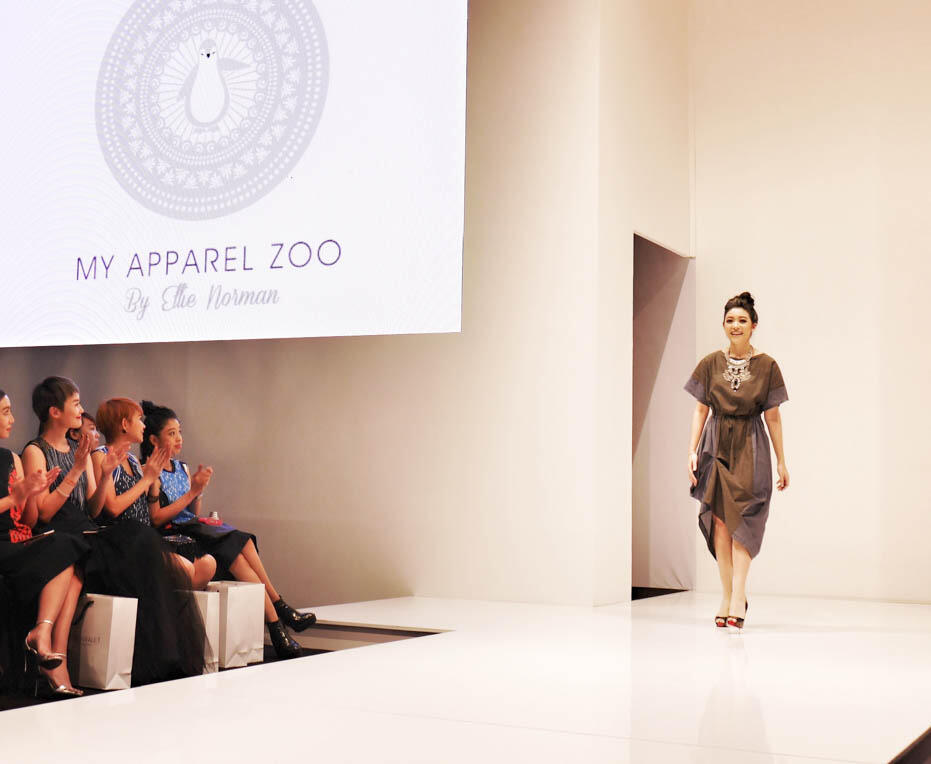 KL Fashion Week KLFW RTW 2016 Day 1 - 17 My apparel zoo by ellie norman