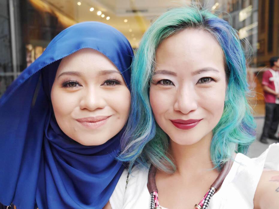 KL Fashion Week KLFW RTW 2016 Day 1 - 23 joyce wong raja nadia sabrina aere