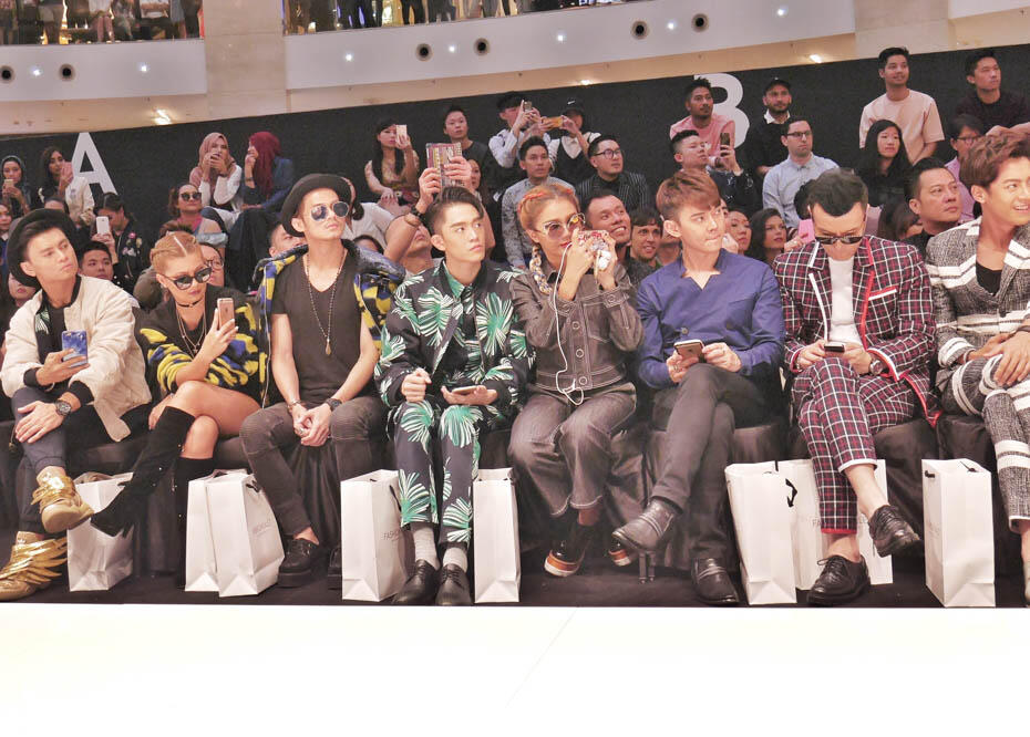 KL Fashion Week KLFW RTW 2016 Day 1 - 7 front row runway_