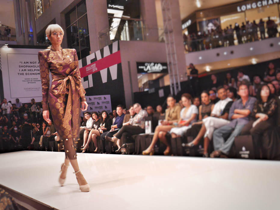 KL Fashion Week KLFW RTW 2016 Day 2 - 7 fashion show adila long
