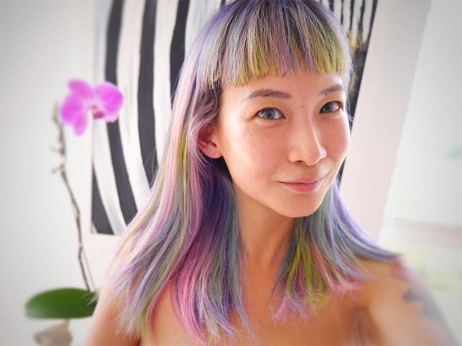 Centro Hair Salon Joyce Wong Rainbow Hair