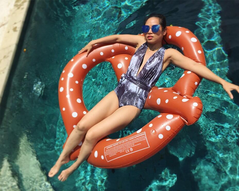 Bali Uluwatu Surf Villas 43 - Pretzel Float