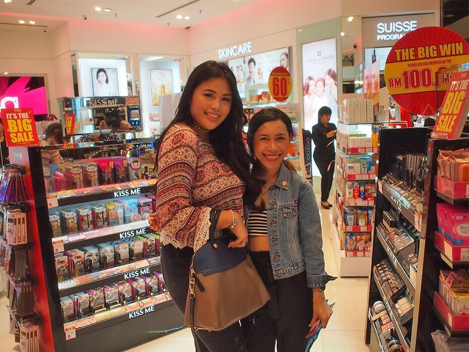 Amanda Imani & Faridah Sasa MyTown