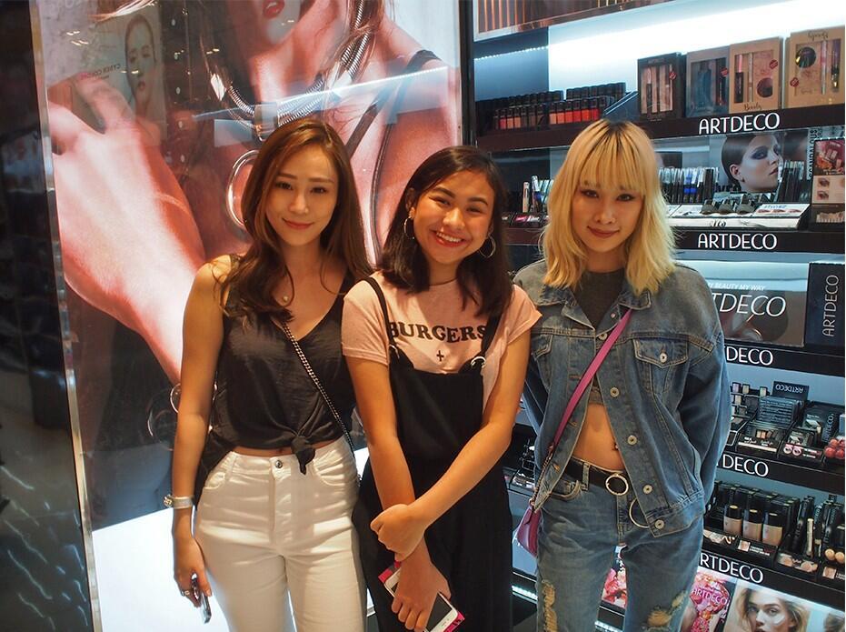 Cherrie Liong Liza Lim Luna Tasha Sasa MyTown