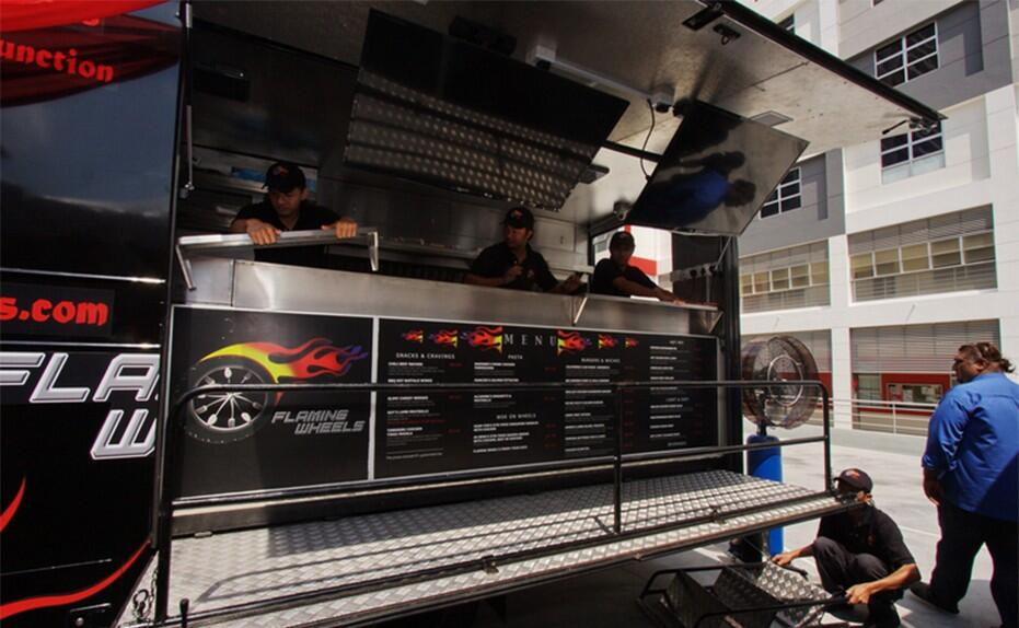 Flaming Wheels Food Truck Malaysia