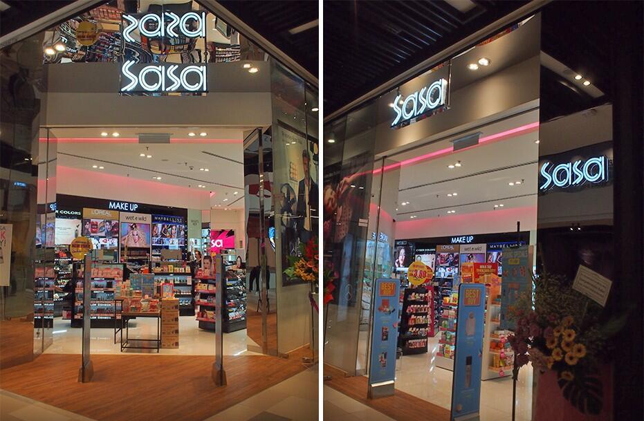 Sasa MyTown Store Entrances