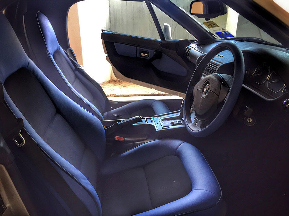 BMW-Z3-custom-interior-blue-1-after GNT autoseats malaysia