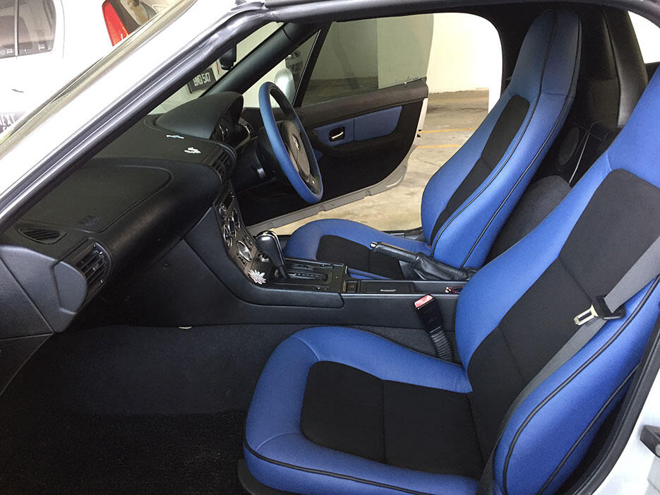 BMW-Z3-custom-interior-blue-4-after-before-GNT-autoseats-malaysia